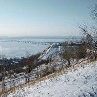 мост через Волгу_зима :: Андрей ЕВСЕЕВ
