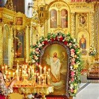 Храм Богоявления в Елохове. Праздничная икона. :: Геннадий Александрович