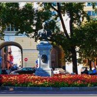 Сквер на ул.Ломоносова. :: Александр Лейкум