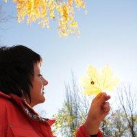 Через лист на солнышко :: Ната Семионова