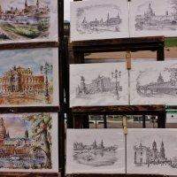 Дрезден в рисунках :: ирина )))