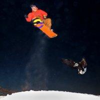 сноуборд(неожиданная встреча) :: юрий макаров