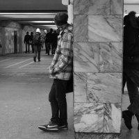 Одиночество в метро №3 :: Татьяна Белякова