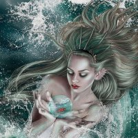 Water nymph :: Анна Schnabel