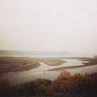 Волга.Осень. :: Юлиана Мещерякова