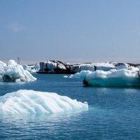 Ледниковое озеро Йокульсарлон в Исландии :: Вячеслав Ковригин