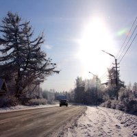 Зимний путь :: Аня Разумовская