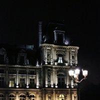 Ночь.Париж...фонарь..... :: ирина )))