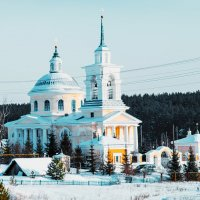 Поварня, Церковь Николая Чудотворца :: Валерий Кучинский
