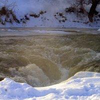 Стремительная и порожестая река Подкумок. :: ФотоЛюбка *