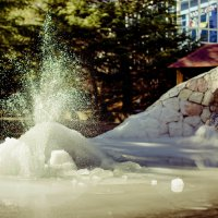 Зимний фонтан :: Александр Аль-А