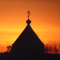 Храм в закате. :: Vladikom
