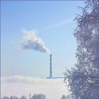 Корабль в тумане. :: Наталья Юрова