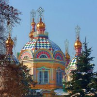 Вознесенский собор в городе Алма-Ате :: Юрий Владимирович