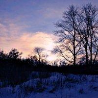Мороз трескучий за окном... :: Евгений Юрков