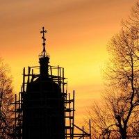 Силуэт на закате :: Андрей Куприянов