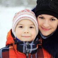зимняя прогулка :: Alisa Nikolaeva