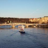 На Карловом мосту :: Ульяна Жукова