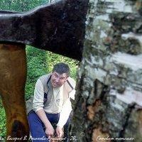 Готовит шашлыки :: Валерий Викторович РОГАНОВ-АРЫССКИЙ