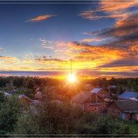 Вечер в деревне. :: Nikita Volkov