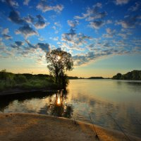 Утром на рыбалке :-) :: Nikita Volkov