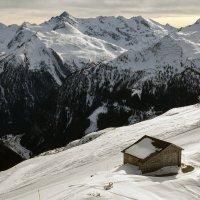 Австрия, домик в горах :: Juls Juls