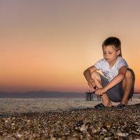 Закат на море :: Aнатолий Дождев