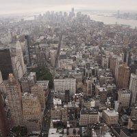 USA NY Манхеттен с высоты 86 этажа :: Владимир Ильин