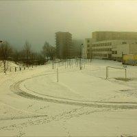 Стадион зимой :: Виктор (victor-afinsky)