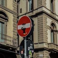 Дорожные знаки Флоренции :: Наталья Rosenwasser