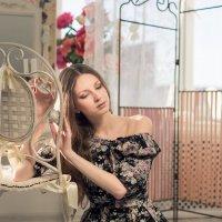 Колокольчик в твоих волосах звучит соль-диезом... :: Дарья Попова