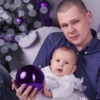 Папа и дочурка :: Сергей Курсачев