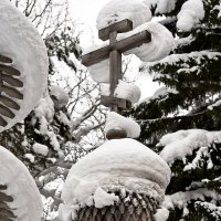 Деревянные купола :: Алёна Михеева
