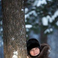 женщина в парке :: Олег Петрушов