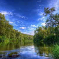 Летний полдень на реке Осетр :: Nikita Volkov