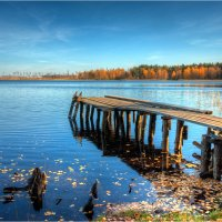 Ласковское озеро осенью :: Nikita Volkov