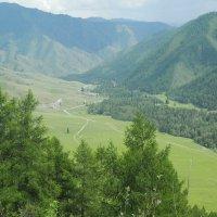 Вид с перевала Чике-Таман. :: Олег Афанасьевич Сергеев