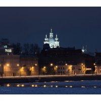 Синий вечер... :: Марина Павлова