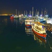 Ночная гавань :: Алексей Окунеев