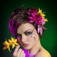 Дикая орхидея :: Юлия Хапугина