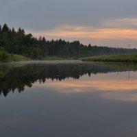 Закат на пруду :: Андрей Словин