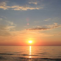 Вечер на Азовском море под Керчью :: Наталья Лунева