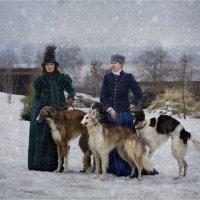 Женская особенность национальной охоты :: Виктор Перякин