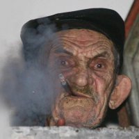Дымящая голова :: Nikita Volkov
