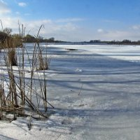февральский пейзаж :: юрий иванов