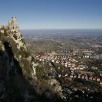 Сан-Марино, Крепость Гуаита :: Татьяна Нестерова
