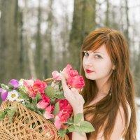 Снежные цветы :: Анна Грицишина