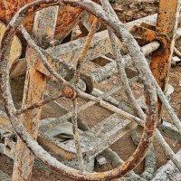 Колесо на стройке - тоже техника! :: Стил Франс