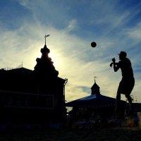 Международные соревнования по пляжному волейболу! :: Владимир Шошин