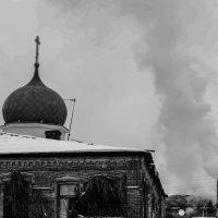 Пожар в жилом доме :: Дмитрий Тарарин